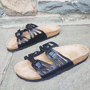 Birkenstock Granada leather sandals